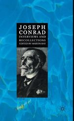 Joseph Conrad by Martin Ray